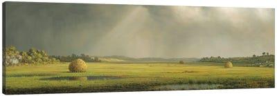 Sun And Rain Canvas Art Print