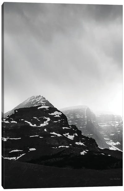 The Snow Mountain Canvas Art Print