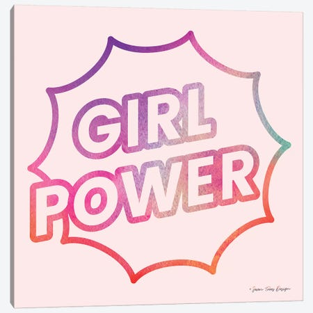 Girl Power I Canvas Print #STD21} by Seven Trees Design Canvas Art Print