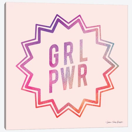 Girl Power II Canvas Print #STD22} by Seven Trees Design Canvas Print