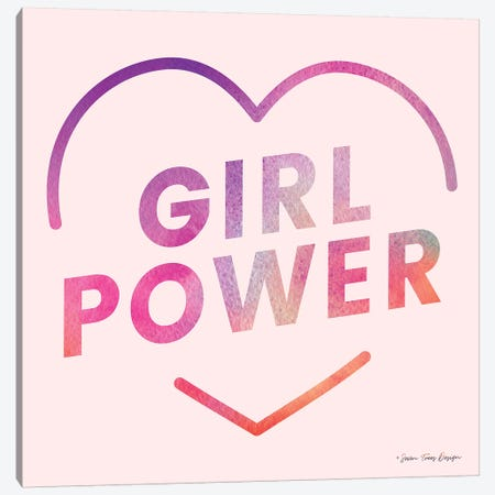 Girl Power III Canvas Print #STD23} by Seven Trees Design Canvas Print