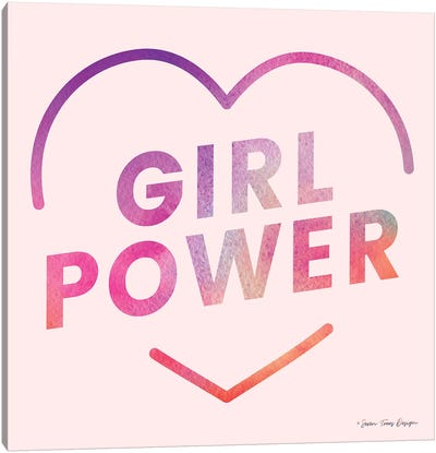 Girl Power III Canvas Art Print