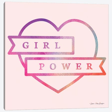 Girl Power IV Canvas Print #STD24} by Seven Trees Design Canvas Art