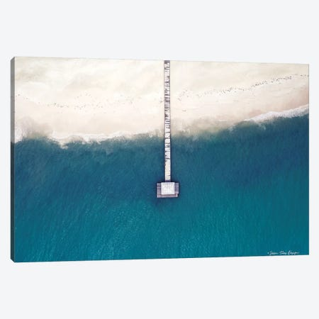 Into the Ocean 3-Piece Canvas #STD32} by Seven Trees Design Canvas Art