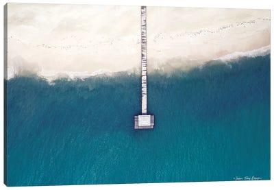 Into the Ocean Canvas Art Print