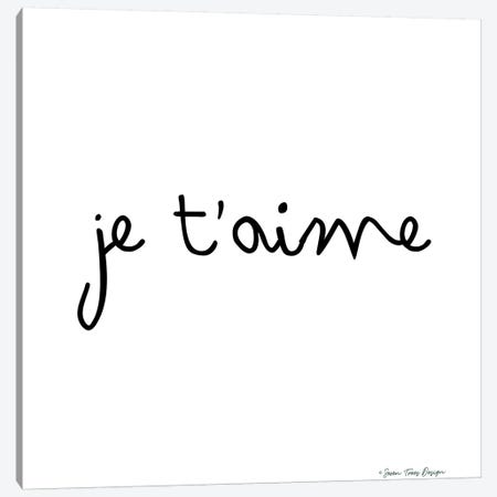 Je T'aime Canvas Print #STD33} by Seven Trees Design Canvas Artwork