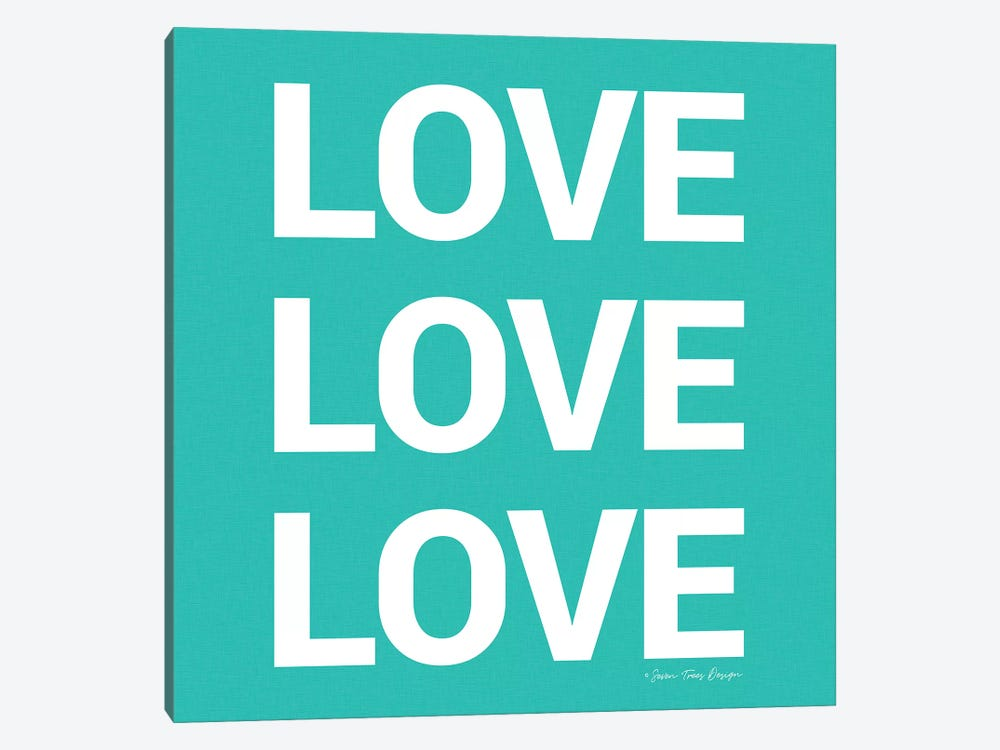 Love, Love, Love by Seven Trees Design 1-piece Canvas Art