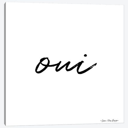 Oui II Canvas Print #STD41} by Seven Trees Design Art Print