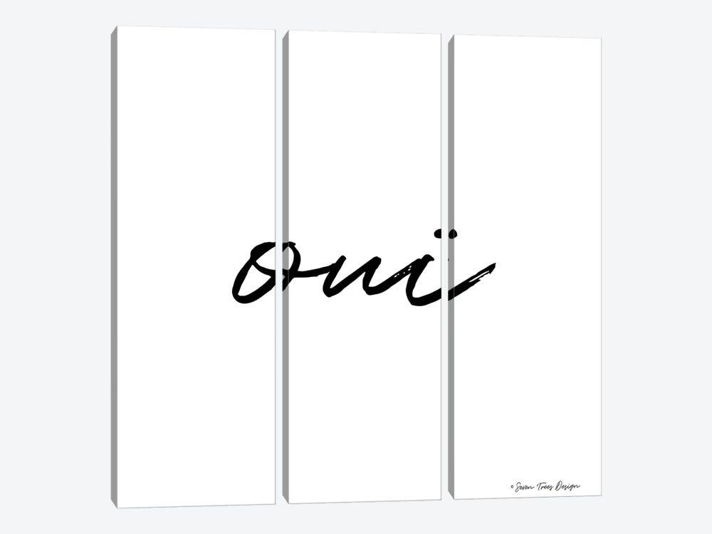 Oui II by Seven Trees Design 3-piece Canvas Artwork