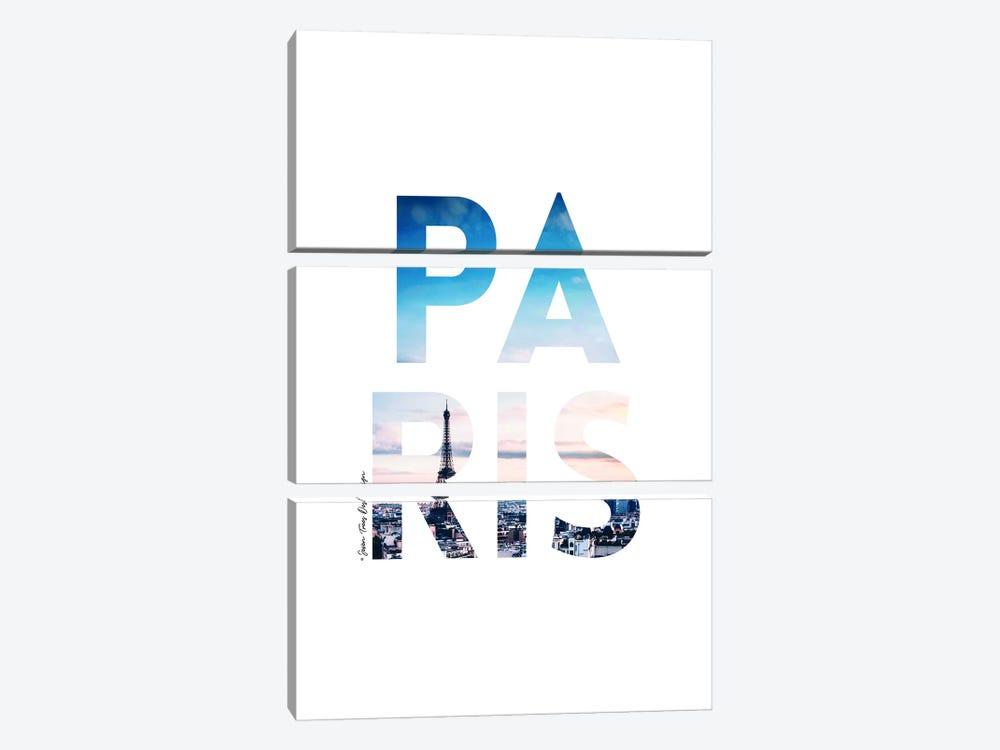 Paris by Seven Trees Design 3-piece Art Print