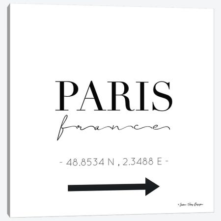 Paris Sign Canvas Print #STD44} by Seven Trees Design Canvas Art