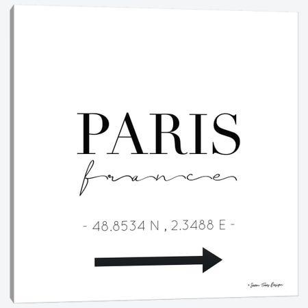 Paris Sign Canvas Print #STD44} by Seven Trees Design Canvas Art