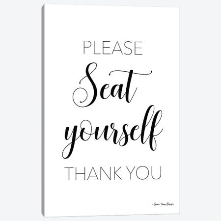 Please Seat Yourself 3-Piece Canvas #STD45} by Seven Trees Design Canvas Wall Art