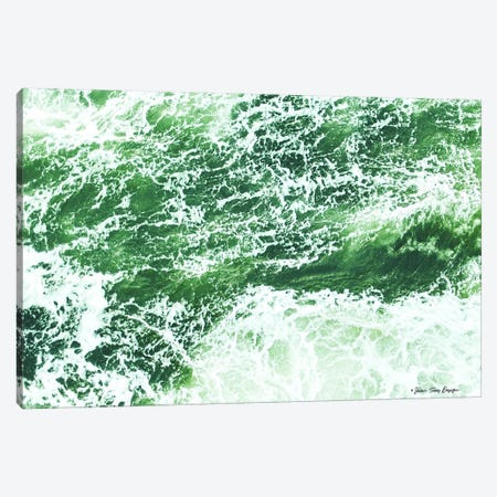 Salt and Waves Canvas Print #STD52} by Seven Trees Design Canvas Artwork