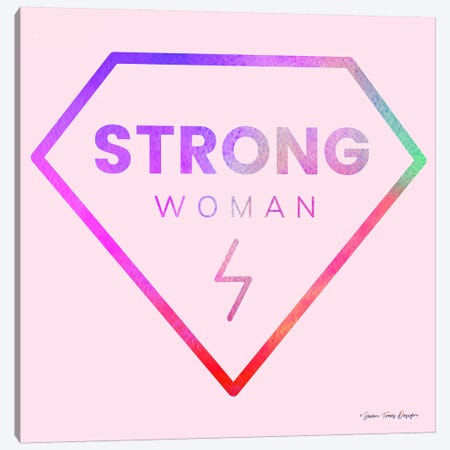 Strong Woman Canvas Print #STD59} by Seven Trees Design Canvas Art