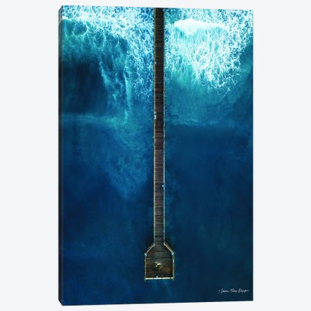 The Dock 3-Piece Canvas #STD61} by Seven Trees Design Canvas Art Print