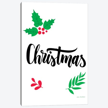 Christmas Greenery Canvas Print #STD80} by Seven Trees Design Art Print