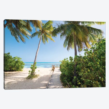 Lonely Paradise - Caribbean Canvas Print #STF102} by Stefan Hefele Canvas Print