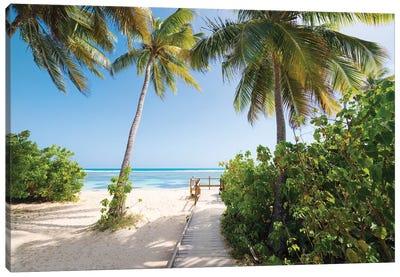Lonely Paradise - Caribbean Canvas Art Print