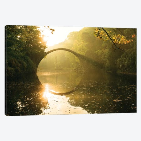Lord Of The Bridges Canvas Print #STF103} by Stefan Hefele Canvas Art Print