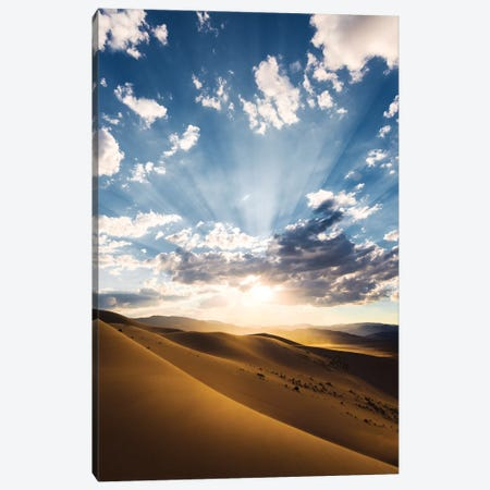 Magic Death Valley Canvas Print #STF106} by Stefan Hefele Canvas Art