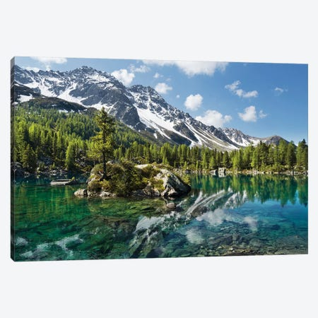 Magic Lake Canvas Print #STF107} by Stefan Hefele Canvas Art