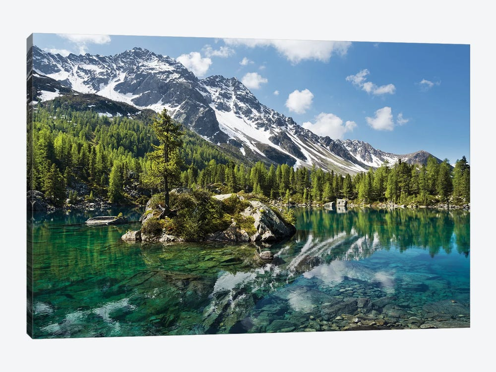 Magic Lake by Stefan Hefele 1-piece Art Print