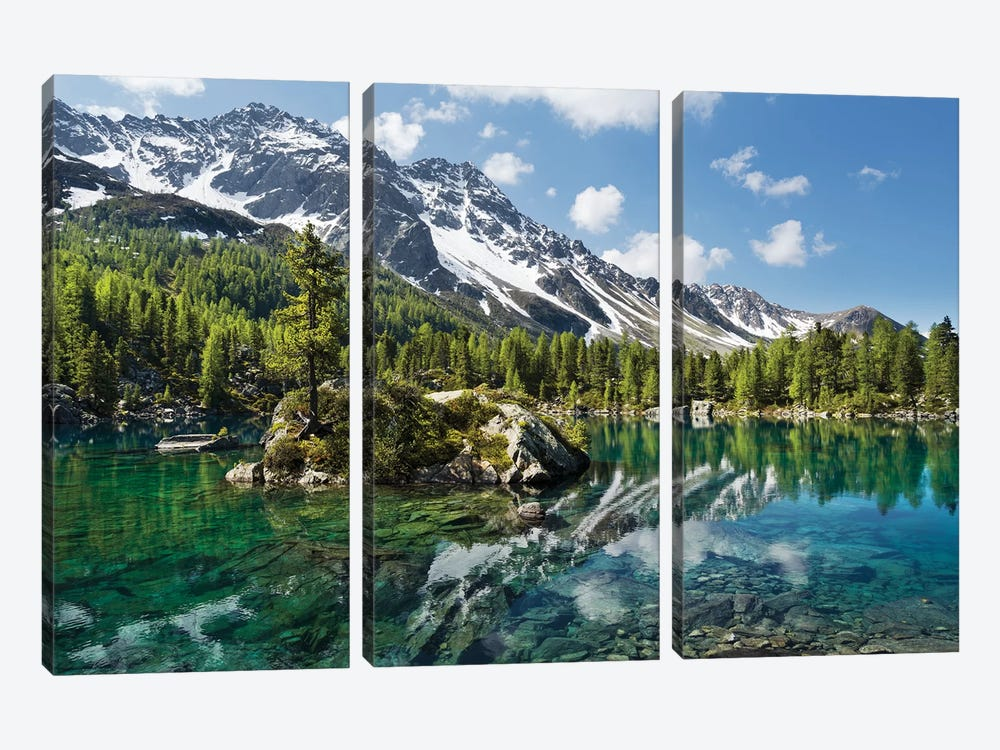 Magic Lake by Stefan Hefele 3-piece Art Print