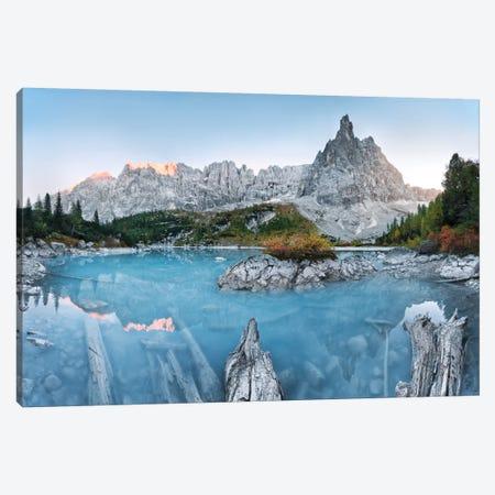 Alpine Treasure - Dolomites Canvas Print #STF10} by Stefan Hefele Canvas Art