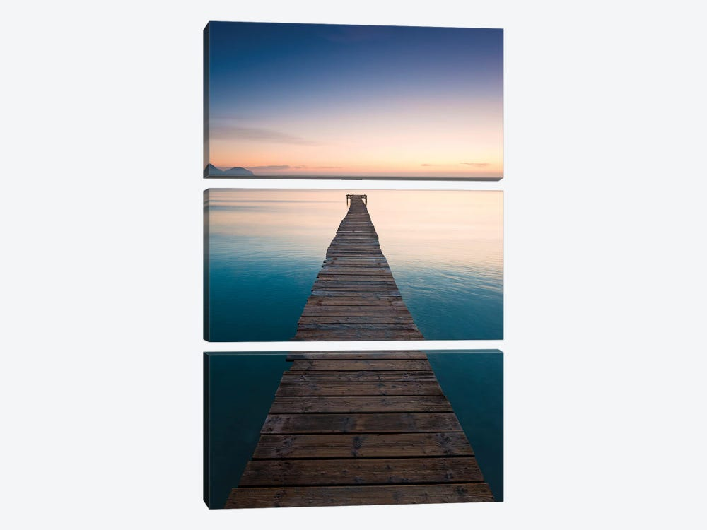 Morning Breeze In Mallorca 3-piece Canvas Art