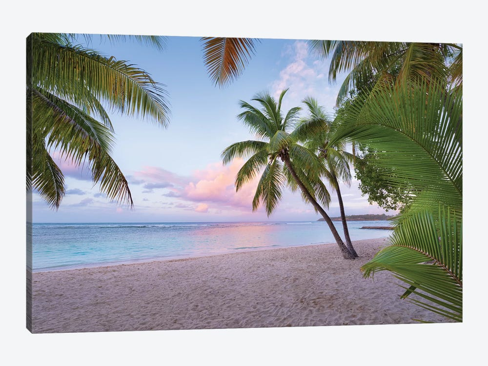 Palm Beach, Caribbean by Stefan Hefele 1-piece Canvas Wall Art