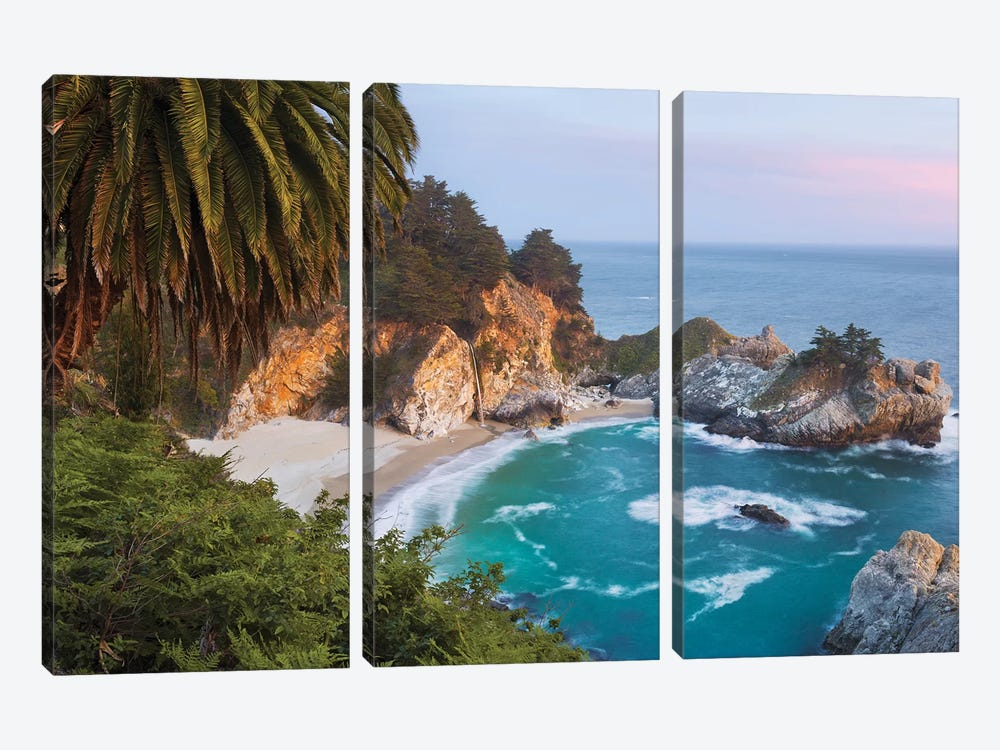 Paradise Falls, USA by Stefan Hefele 3-piece Art Print