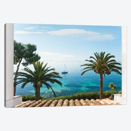 Paradise View Canvas Print #STF126} by Stefan Hefele Canvas Art
