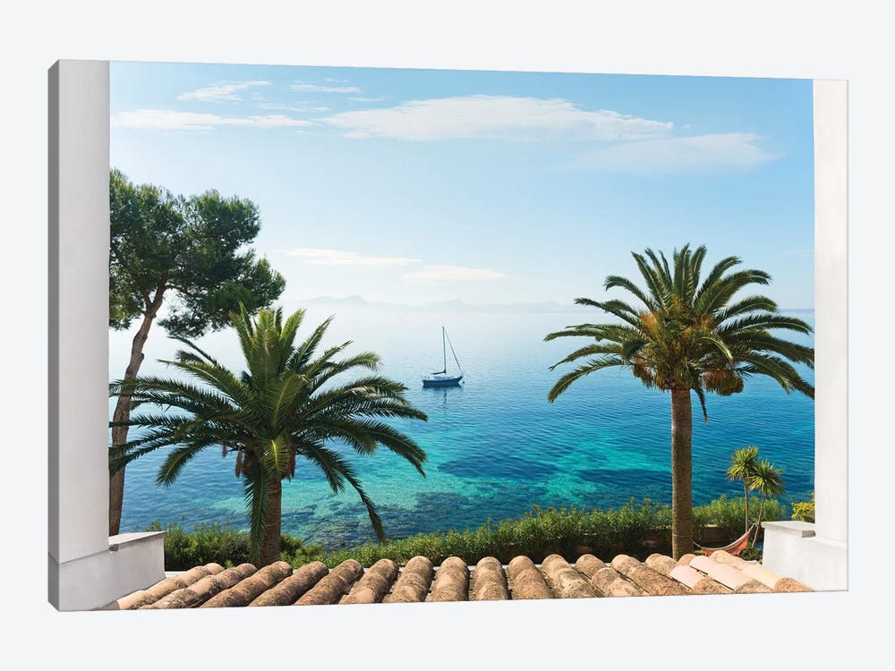 Paradise View by Stefan Hefele 1-piece Canvas Art