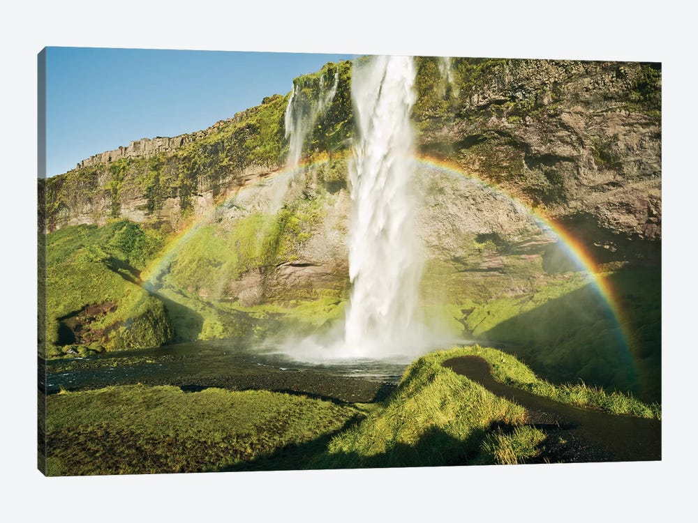 Power Of Iceland 1-piece Canvas Art