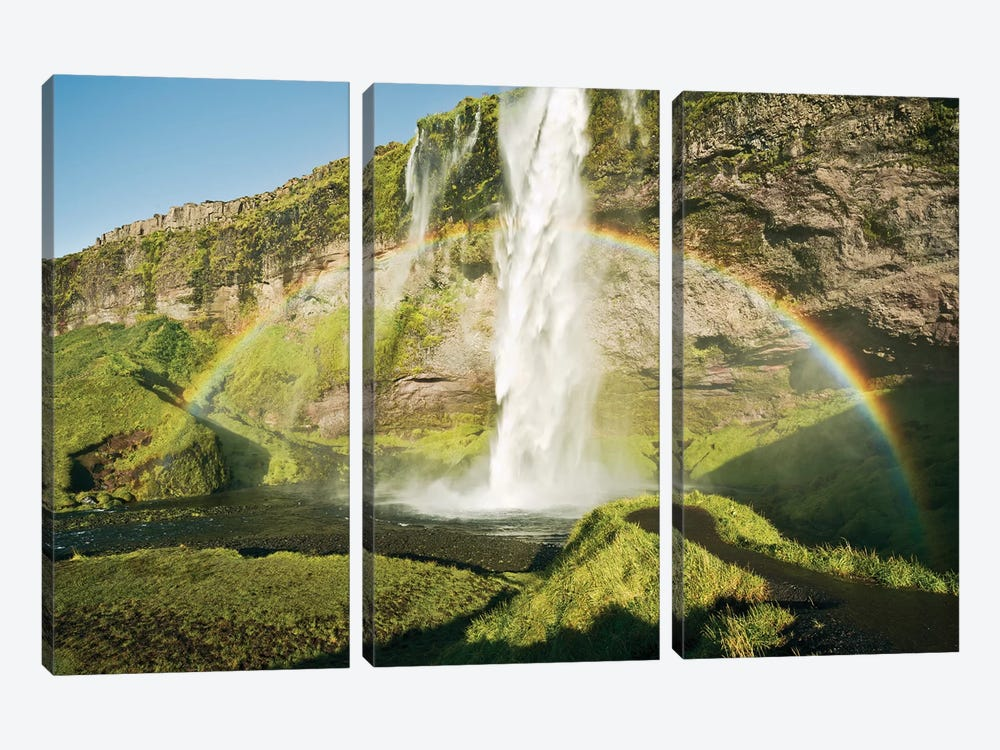 Power Of Iceland 3-piece Canvas Artwork