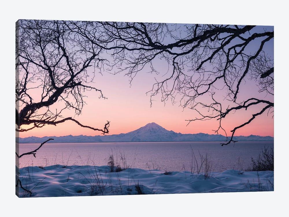 Redoubt Volcano, Aleutians, Alaska by Stefan Hefele 1-piece Art Print