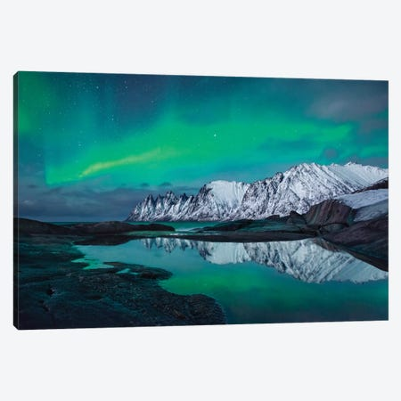 Reflected Fairy Canvas Print #STF139} by Stefan Hefele Canvas Artwork