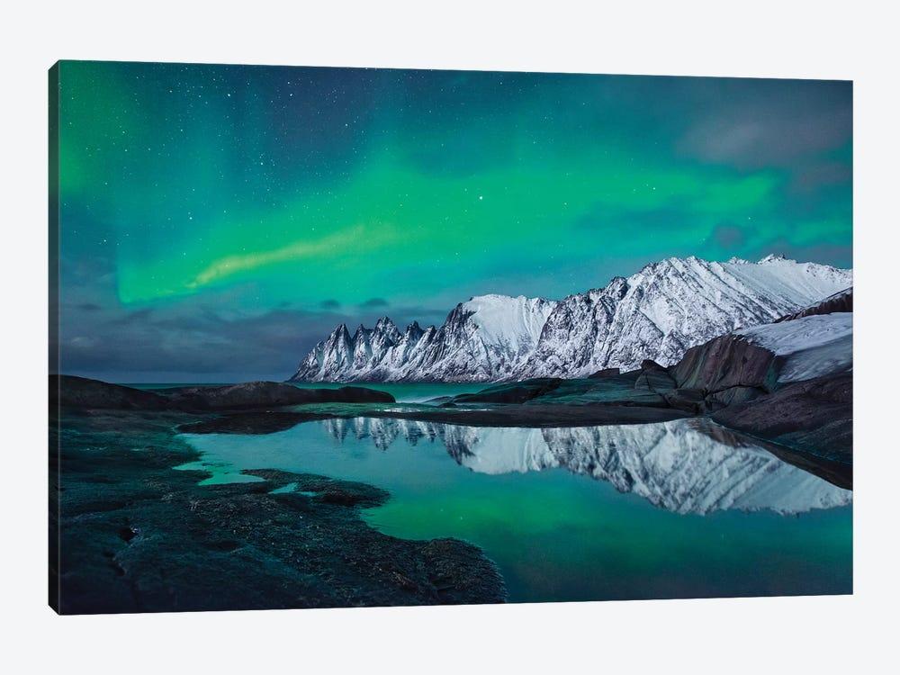 Reflected Fairy by Stefan Hefele 1-piece Canvas Artwork