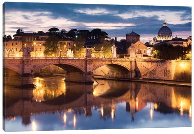 Romantico Rome Canvas Art Print