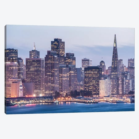 San Francisco Canvas Print #STF142} by Stefan Hefele Canvas Art Print