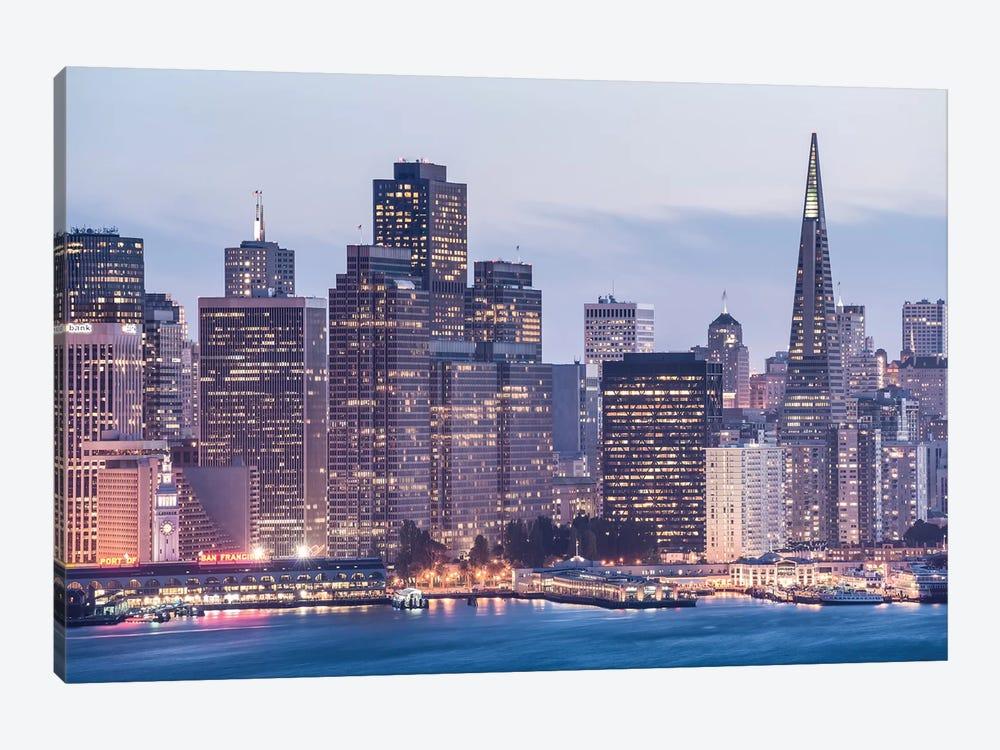 San Francisco by Stefan Hefele 1-piece Canvas Wall Art