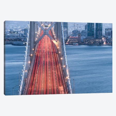 San Francisco Blues Canvas Print #STF143} by Stefan Hefele Canvas Print