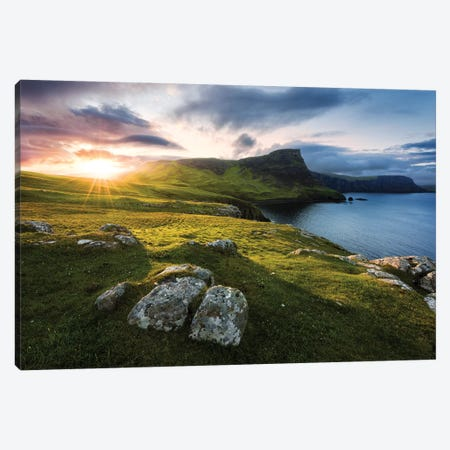 Scottish Paradise Canvas Print #STF144} by Stefan Hefele Canvas Artwork