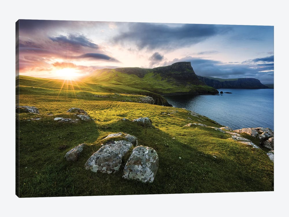 Scottish Paradise by Stefan Hefele 1-piece Canvas Artwork
