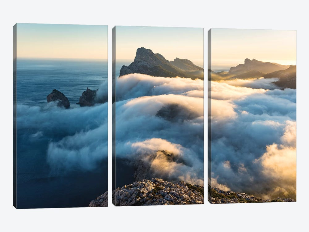 Soul Of The Light 3-piece Canvas Wall Art