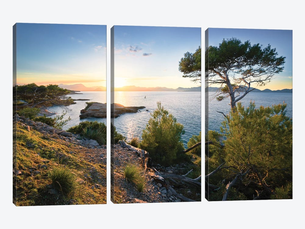 Southern Light by Stefan Hefele 3-piece Art Print