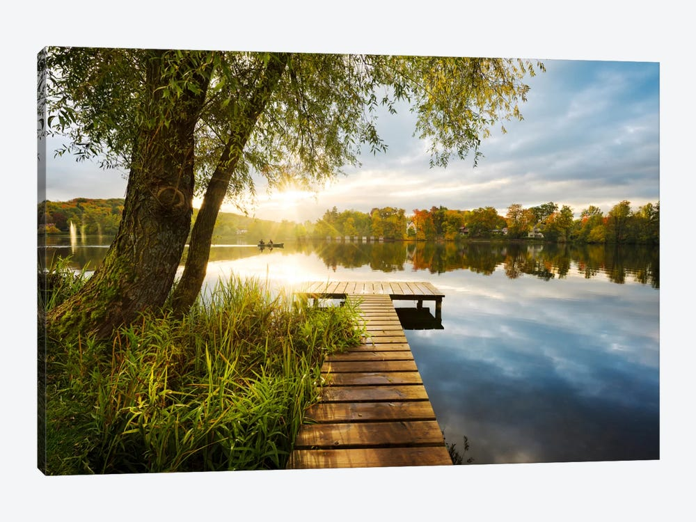Autumnal Morning by Stefan Hefele 1-piece Canvas Art Print
