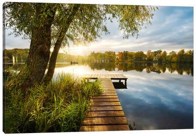 Autumnal Morning Canvas Art Print