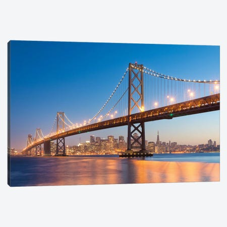 Spectacular San Francisco Canvas Print #STF150} by Stefan Hefele Canvas Wall Art